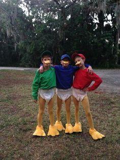 Tick Trick Track   Kostüm-Idee für Gruppen zu Karneval, Halloween & Fasching