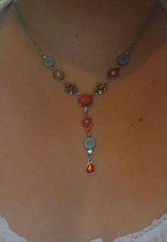 Multi-Flower Necklace Flower Necklace, Asos, Jewelry, Women, Jewellery Making, Jewerly, Jewelery, Jewels, Jewlery