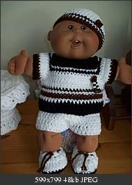 My *favorite* doll as a child and.... STILL IS!!!! I love cabbage patch dolls! :)