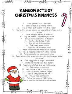 Rowdy in Room 300: Christmas Kindness part 2 (Random Acts of Christmas Kindness)