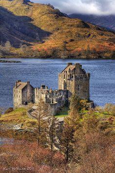 Eilean Donan Castle, Loch Duich, Kintail Scotland