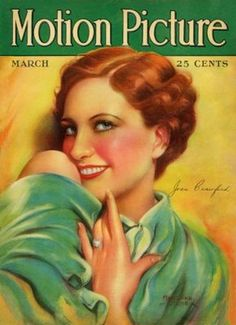 Motion Picture Magazine with Joan Crawford 1928