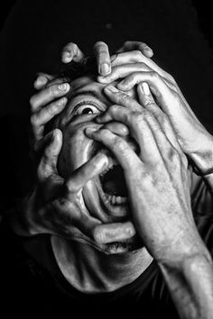 pain by randi sofyan sauri Emotional Photography, Face Photography, Conceptual Photography, Creative Photography, Photographie Art Corps, Arte Obscura, Face Reference, Photo Reference, A Level Art