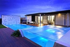 two layer glass pool