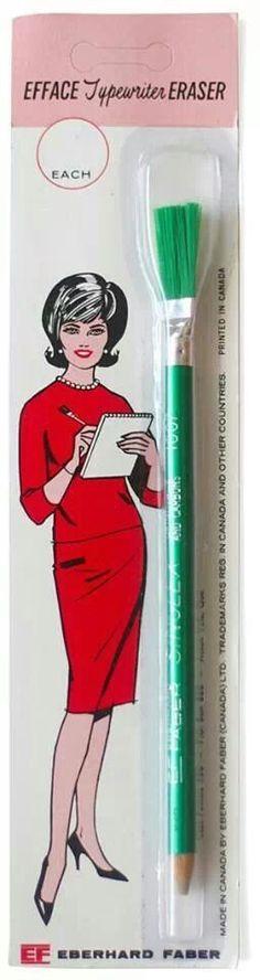 Typewriter eraser.