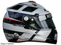 Andre Lotterer's helmet for Spa 2014 w Caterham