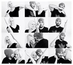 Herz-Foto-Collage