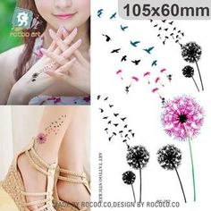 Model Number: RC2252Type: Temporary TattooBrand Name: rocooartSize: 105x60mm