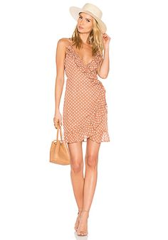 Caliente Ruffle Dress