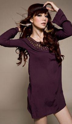 Trendy v-neck lace splicing dress