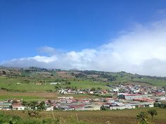 Cartago, Costa Rica. Road to volcano Irazu.