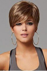Synthetic Wigs For Women   Cheap Best Curly And Short Synthetic Wigs Online Sale At Wholesale Prices   Sammydress.com