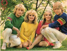 Bucks Fizz, winner of the Eurovision Song Contest 1981