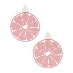 Brinco laranja bicolor - rosa - Perfeito para qualquer ocasião, o brinco vem em resina maleável com textura emborrachada e possui impermeabilidade. O diferencial da peça fica por conta do formato de laranja, agregando estilo ao visual.Cor: Rosa e brancoMarca: Mariah Rovery