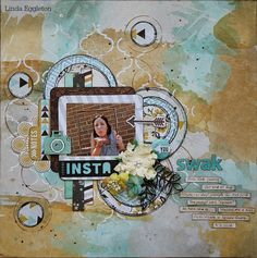 "Lou's World: WRMK ""Indian Summer"" for All About Scrapbooks / Scrap365 October…"
