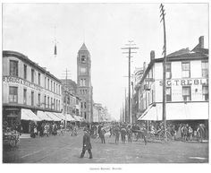 1893 Hamilton Ontario, New Pictures, Vintage Photos, Street View, Canada, History, Photography, Learning, Fotografie