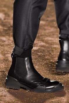 Cleated Chelsea boot from Ermenegildo Zegna men's AW 2015 (fall) collection