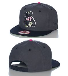 NEW ERA Minor league baseball snapback cap Adjustable strap on back of hat for comfort Embroidered Tourists team logo on front Jimmy Jazz Exclusive
