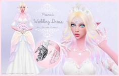 Wedding Dress + Gloves at Prisma Planet via Sims 4 Updates