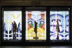 Hunter Retail Windows   SS15 Campaign at Regent Street, London, 2015 by Millington Associates