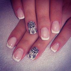 . dream filter,  nail art