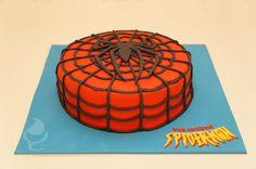 Spiderman cake - Pastel de Spiderman