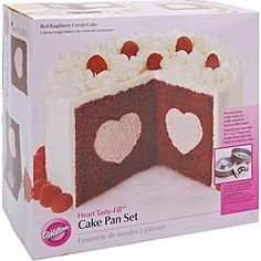 Do you know someone who would love to bake a heart-filled cake? This cake pan set would make a great gift for them. If you love to bake, buy it for yourself and make a love cake for someone special.