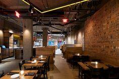 CAVA Mezze Greek Restaurant & Bar by Core Architecture, Clarendon – Virginia