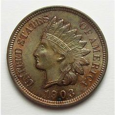 Brilliant Uncirculated 1903 Indian Head Cent - Tough To Find In This Condition  http://www.propertyroom.com/l/brilliant-uncirculated-1903-indian-head-cent-tough-to-find-in-this-condition/9458480