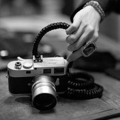 #leica #m9 #bling and #diamonds #girlsbestfriend with #annoebarton #camera #strap #photographer #thorstenovergaard