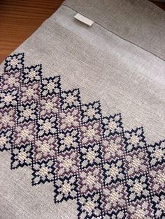 Discover thousands of images about rodica ghenghea Cross Stitch Geometric, Cross Stitch Borders, Cross Stitch Flowers, Cross Stitch Charts, Cross Stitch Designs, Cross Stitching, Cross Stitch Patterns, Blackwork Embroidery, Cross Stitch Embroidery