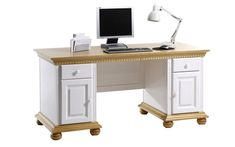 Solid Wood Desk, Shaker Style, Office Table, Cabinet Styles, Computer, Storage Spaces, Furniture, Home Decor, Character