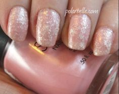 Sation Freeze Frame #LoveLynnderella Snow Angel #Nailpolish swatches @zoyanailpolish @MissProNail @LoveLynderella pink snowy manicure - click thru for blog post