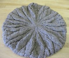 Finally! A knit slouchy hat pattern!