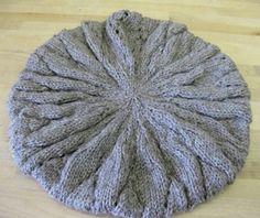Finally! A knit slouchy hat pattern!
