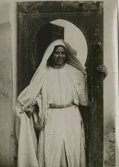Flandrin. Maroc , Une Femme Vintage print, Morocco  Tirage argentique  13x18