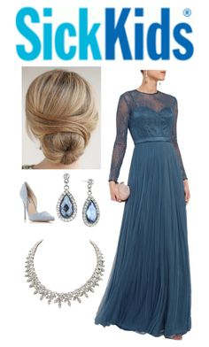 """""""Attending the SickKids Charity Gala with Patrick"""" by hrh-amelia-of-croatia ❤ liked on Polyvore featuring Catherine Deane, Steve Madden and 1928"""