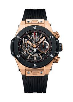 Big Bang Unico King Gold Ceramic 45mm Chronograph watch from Hublot