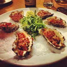 Oysters Killpatrick
