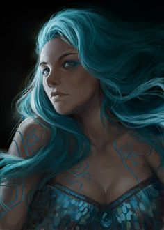 Kai Fine Art is an art website, shows painting and illustration works all over the world. Dungeons And Dragons Characters, Dnd Characters, Fantasy Characters, Female Characters, Fantasy Rpg, Fantasy Girl, Dark Fantasy, Female Character Design, Character Design Inspiration