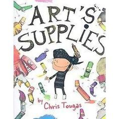 Sweet hard cover addition for the art enthusiast! Art Books For Kids, Art Lessons, Art Supplies, Book Art, Comics, Cover, Artist, Sweet, Color Art Lessons