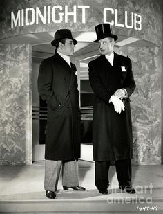 George Raft plays a detective trying to catch a den of thieves in the offbeat, pre-code, caper film MIDNIGHT CLUB (1933). The film is worth seeing if you ever get the chance. One of Raft's better films. (Bizarre Los Angeles)