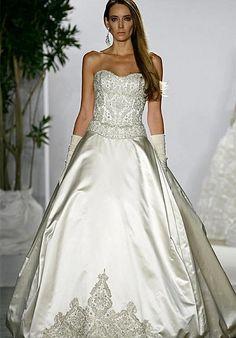 PLATINUM for Priscilla of Boston dress. My dress ;)