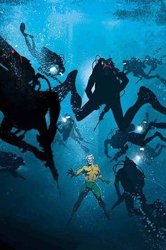 Aquaman by Josh Middleton