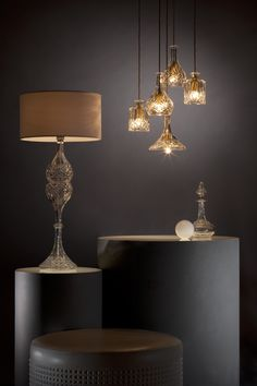 Decanter Lights | #LeeBroom  www.bijdendom.nl                                                                                                                                                                                 More