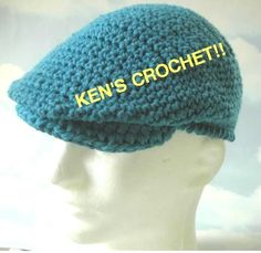 Cotton 'Jeff' CapPDF Pattern by kenjones5 on Etsy, $5.00