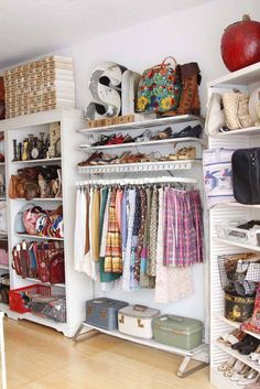such a charming closet