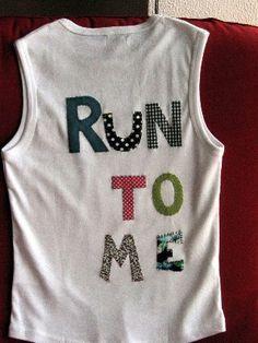 Camiseta para salir a correr. Vendida!!