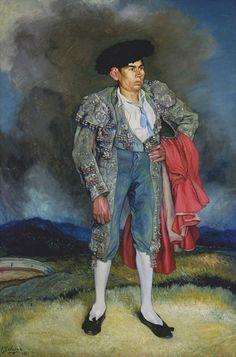 Ignacio Zuloaga - Retrato de El Chepa                                                                                                                                                      Más