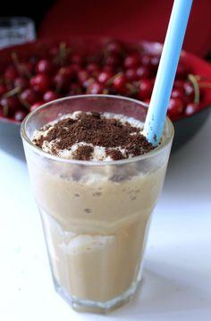 kawa mrożona, przepis do wykonania w Thermomix lub w innym blenderze